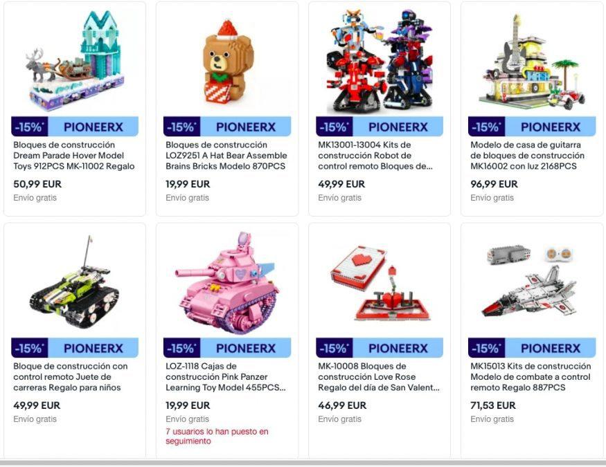 Juguetes baratos en eBay2 SuperChollos