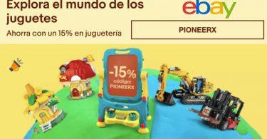ofertas ebay juguetes baratos SuperChollos