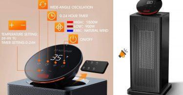 oferta calefactor Kassbosa QN12 barato SuperChollos