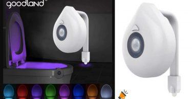 oferta luz LED para inodoro de Goodland barata SuperChollos