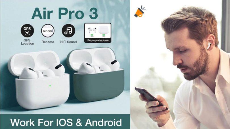 oferta auriculares Air Pro 3 baratos SuperChollos