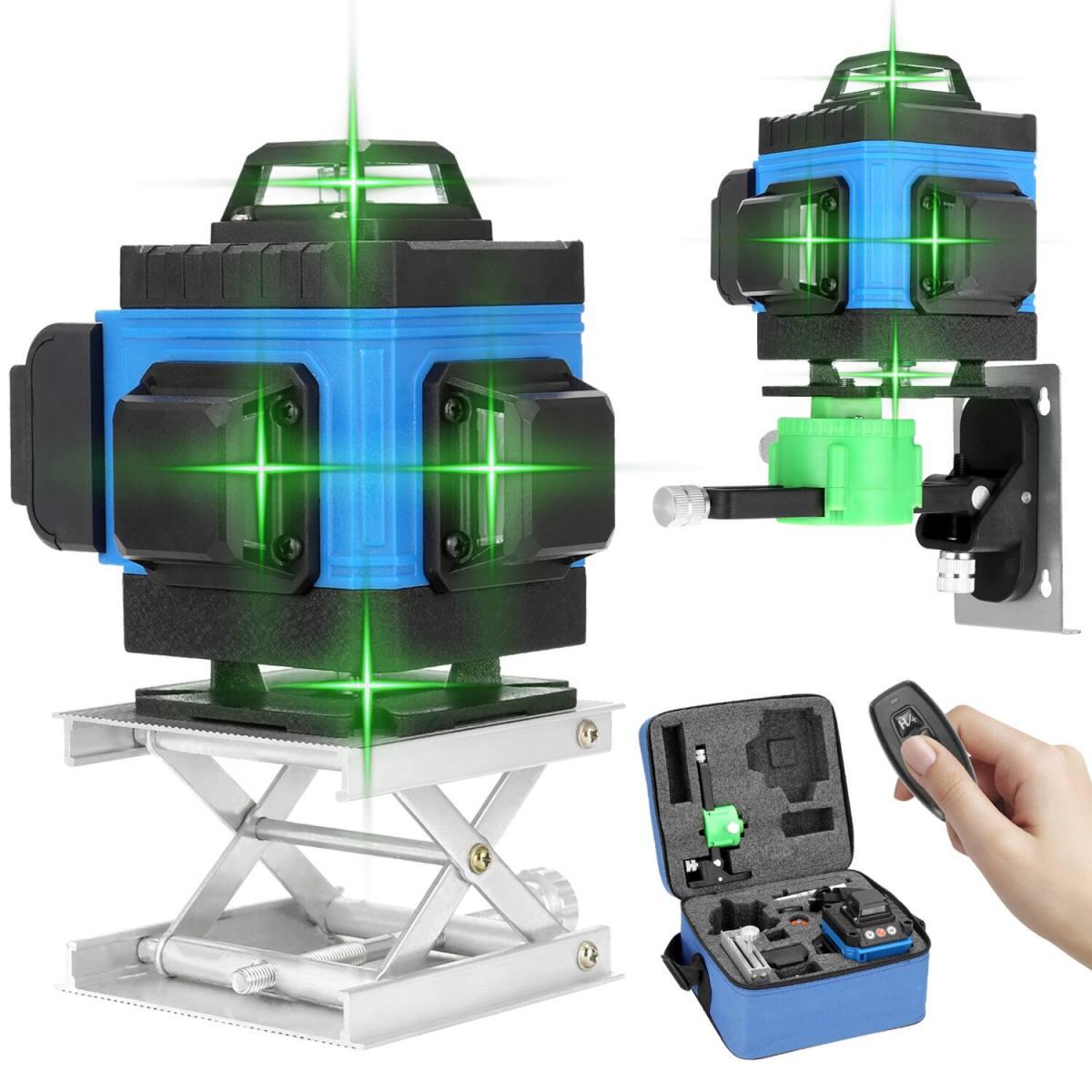 La%CC%81ser verde de 1216 li%CC%81neas 3D 4D autonivelante 360 azul scaled SuperChollos