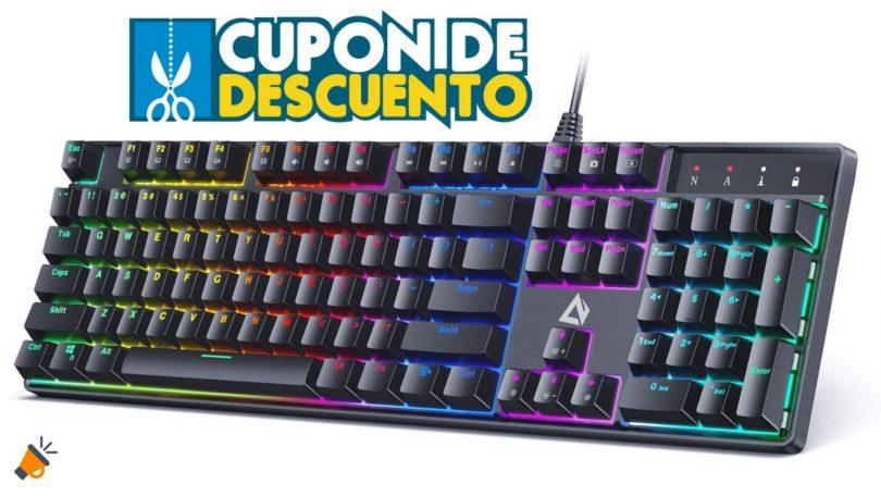 oferta teclado aukey KM G16 barato SuperChollos