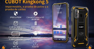 oferta CUBOT KingKong 5 barato SuperChollos