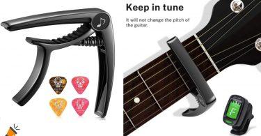 oferta Cejilla guitarra Donner DC 2 barata SuperChollos