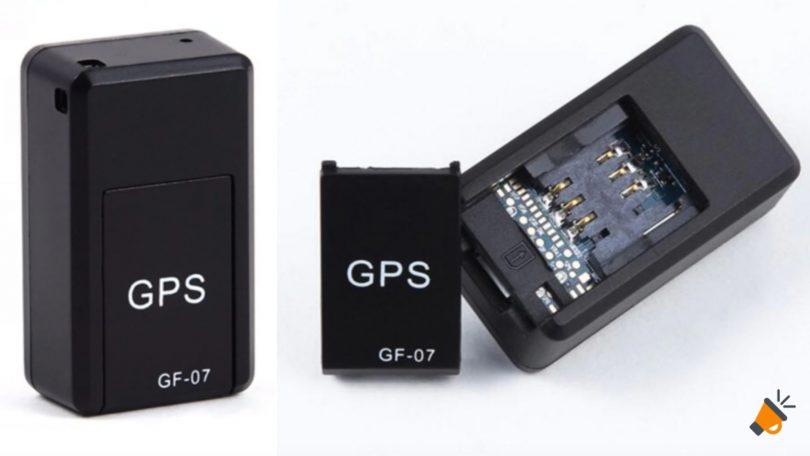 OFERTA Mini rastreador GPS GF 07 BARATO SuperChollos