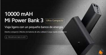 oferta Xiaomi Power Bank 3 barata SuperChollos