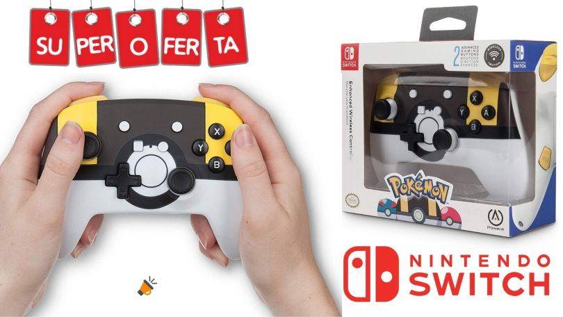 oferta PowerA Poke%CC%81mon Ultra Ball barato SuperChollos