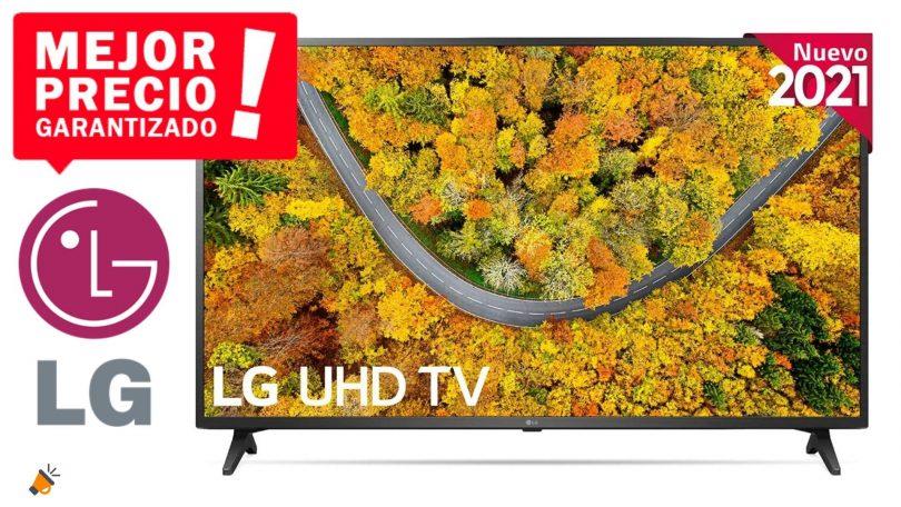 oferta LG 50UP7500 barata SuperChollos