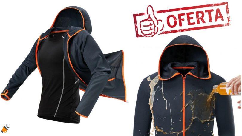 oferta chaqueta cortavientos hidrofo%CC%81bica barata SuperChollos