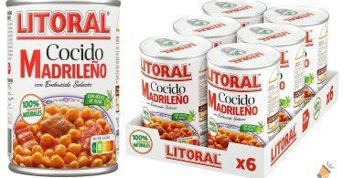 oferta LITORAL Cocido Madrilen%CC%83o barato SuperChollos