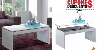 oferta mesa centro salon elevable barata SuperChollos