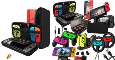 oferta Accesorios Orzly Nintendo Switch baratos SuperChollos