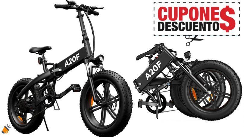 oferta Bicicleta ele%CC%81ctrica ADO A20F barata 1 SuperChollos
