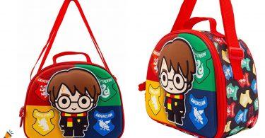OFERTA bolsa portameriendas Harry Potter Wizard 3D barata SuperChollos